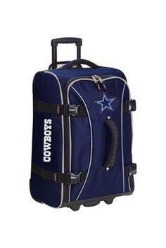 Dallas Cowboys Rolling Suitcase
