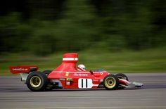 Clay Reggazoni, Ferrari 312 B3, at Scandinavian Raceway Anderstorp (Sweden) 1974