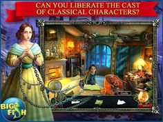 Midnight Mysteries 6: Ghostwriting. A spooky new HOPA for iPad. #hiddenobject #games #puzzle #adventure