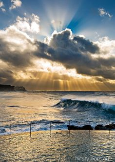 Sunrise - Bronte Beach - Sydney - Australia photo Hirsty photography--I would have breakfast here tomorrrow, please. Beautiful World, Beautiful Places, Australia Photos, Beautiful Sunrise, Wonders Of The World, Places To See, Cool Photos, Relax, Around The Worlds