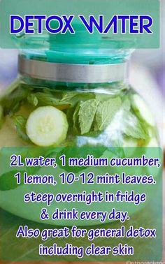 Natural water detox
