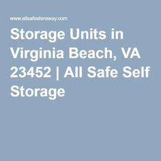 Storage Units In Virginia Beach Va 23452 All Safe Self