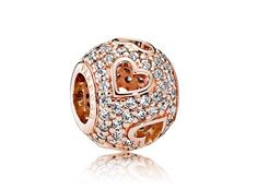 Make Valentines Day one to remember with a Pandora Rose Gold Tumbling Charm!