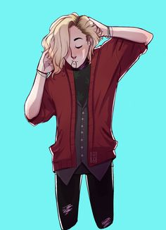 """nicodead: """"Blonde Connor for a request that I accidentally deleted """""""