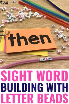 Practicing sight words can be really fun when you give your students these fun, hands on activities. Sight Word Flashcards, Sight Word Activities, Teaching Activities, Free Activities, Teaching Ideas, Literacy Worksheets, Word Games, Sight Words, Sight Word Practice