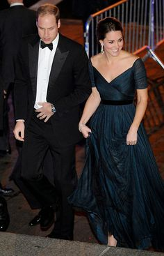 Royal Family Around the World: The Duke and Duchess of Cambridge attend the St. Andrews 600th Anniversary Dinner at Metropolitan Museum of Art on December 9, 2014 in New York City.