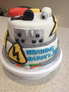 Electrician's 30th birthday cake