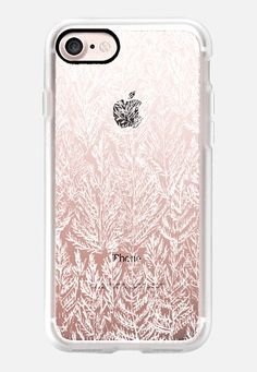 Casetify iPhone 7 Case and Other iPhone Covers - SNOW PINES(WHITE) by KANIKA MATHUR | #Casetify