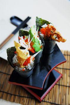 Shin Minori Classic Handrolls #japanesefood #handroll #sushi #temaki