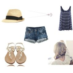 Beach outfit:)