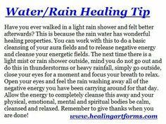 Water / Rain Healing Tip