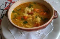 Fazuľová polievka so super haluškami (fotorecept)