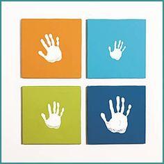 Leinwand-Set für Jungen von Pearhead - Baby Bundles