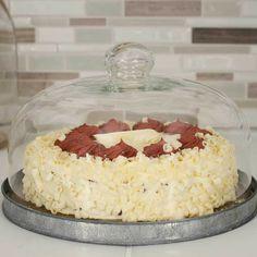 """Rustic Galvanized 10"""" DESSERT CLOCHE Glass Cover Industrial Cake Plate Stand  #RusticGalvanized10DESSERTCLOCHE"""