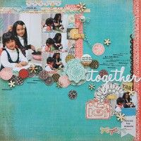 A Project by Tomomi Hiramaru from our Scrapbooking Gallery originally submitted 12/27/12 at 10:07 AM