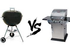 Gas VS Charcoal grills #grill #blackfriday #bbq