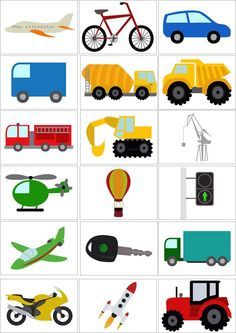 транспорт картинки для детей2