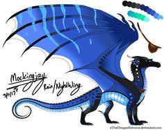 This dragon is so pretty OMG