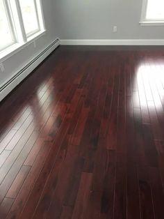Royal Mahogany By Dura Seal Home Hardwood Floors In