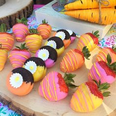 Gorgeous desserts at a Spring birthday party! See more party ideas at http://CatchMyParty.com!