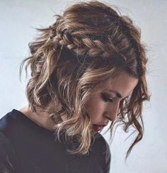 27 beautiful and fresh braid hairstyle ideas for short hair Short hair updo, Formal hairstyles for short hair, Medium hair styles Formal Hairstyles For Short Hair, Braids For Short Hair, Box Braids Hairstyles, Short Hair Cuts, Hairstyle Ideas, Updo Hairstyle, Popular Hairstyles, Hair Ideas, School Hairstyles
