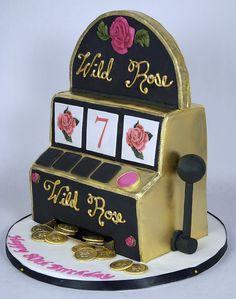 Slot machine cake toronto a 'wild rose' slot machine cake . Casino Night, Casino Party, Healthy Chicken Recipes, Healthy Dinner Recipes, Ford 32, Beef Tartare, Arcade Games, Cake Toronto, Cake Simple