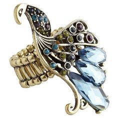 Jewel Peacock Ring from Pier1 on shop.CatalogSpree.com, your personal digital mall.