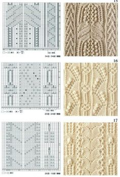 Мастера и умники: Большая подборка узоров для вязания спицами
