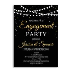 Engagement Party Invitation, Engagement Party Ideas, Wedding Invitation, Engagement Invitation, Enga