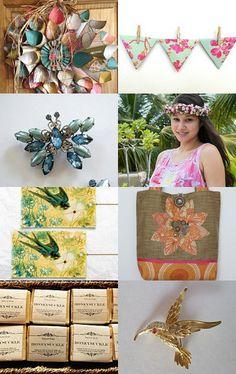 honeysuckle summer by BoulotDodo on Etsy--Pinned with TreasuryPin.com