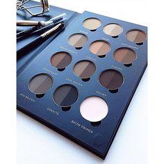 Brow Pro Palette by anastasiabeverlyhills Makeup Geek, Diy Makeup, Makeup Kit, Makeup Inspo, Makeup Addict, Makeup Inspiration, Makeup Hacks, Makeup Artist Kit, Makeup Artistry