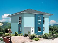 Swing 72 von SCHWABENHAUS Wohnfläche gesamt113,50 m² Zimmeranzahl6,5 Stadtvilla | Zeltdach