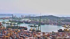 Singapore's Port Logistics Supply, Supply Chain Management, Singapore, Dolores Park, Travel, Viajes, Destinations, Traveling, Trips