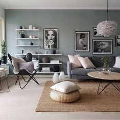 ideas living room colors beige for 2019 Home Living Room, Apartment Living, Interior Design Living Room, Living Room Designs, Living Room Decor, Living Room Wall Colors, Nordic Living Room, Interior Shop, Simple Living Room