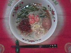 担仔米粉(ビーフン スープ)