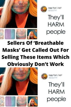 Sellers Of '#Breathable Masks' Get #Called Out For #Selling These Items Which #Obviously Don't Work