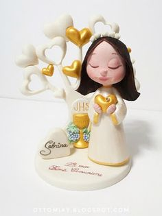 Otto&Miky: Albero della Vita per Prima Comunione Mamma Mia, Clay Crafts, Cake Toppers, Aurora Sleeping Beauty, Pasta Flexible, Christmas Ornaments, Disney Princess, Biscotti, Holiday Decor