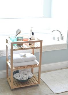 cute bathroom cart - Bathroom Cart