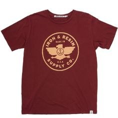 Eagle Supply Co. T-Shirt By Iron and Resin