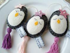 Penguins - felt
