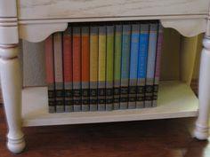 Childcraft Encyclopedias! My grandma has the whole set... I loved them! :)