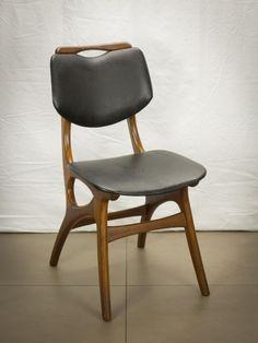 ≥ Vintage Retro Scandinavisch organisch design eettafel stoel - Stoelen - Marktplaats.nl