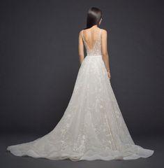 Lazaro Style 3805 Bridal Gown Back