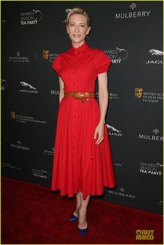 Cate Blanchett & Brit Marling - BAFTA Tea Party 2014! | cate blanchett brit marling bafta tea party 2014 01 - Photo