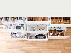 Zdjęcie nr 11 w galerii Kuchnia uporządkowana. Proste sposoby na przechowywanie – Deccoria.pl