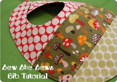 Quilted Patchwork Bib Pattern And Tutorial « Sew She Sews's