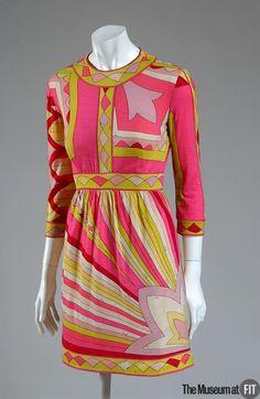 ecbaaf87d72 Dress Designer  Emilio Pucci 1914-1992 Retailer  Saks Fifth Avenue  American