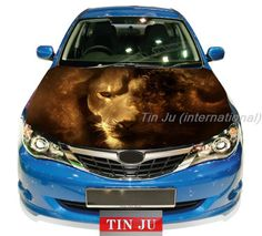 Animal LION JDM Decal Full Color Vinyl Car hood sticker Fit Any car stickers US $79.99 - 92.99