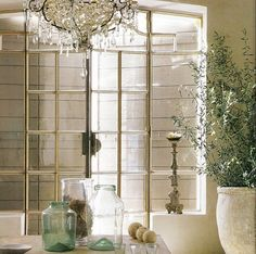 It is all about windows to me. Focusing great windows regardless of the home, defines the space.  source:greige