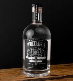 Wheeler's Western Dry Gin - FromUpNorth